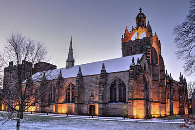 Photograph - King's College Chapel - University Of Aberdeen by Veli Bariskan