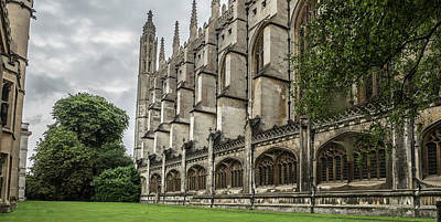 Photograph - Kings College by Jean Noren