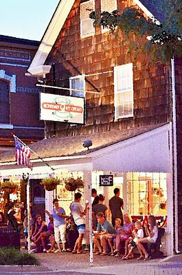 Photograph - King's Ice Cream Lewes Delaware by Kim Bemis
