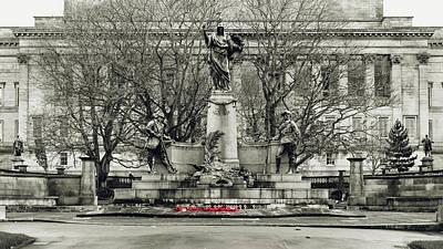 Photograph - Kings Liverpool Regiment Boer War by Jacek Wojnarowski
