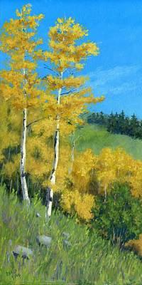 Fall Foliage Painting - Kings Of Autumn by David King