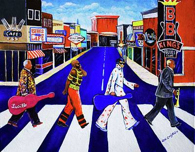 Kings Of Beale Art Print by Arthur Covington