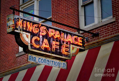 Photograph - King's Palace Cafe by Jerry Fornarotto