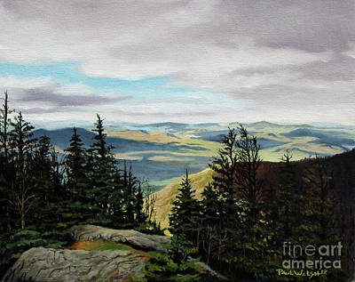 White Mountains Painting - Kings Ravine by Paul Walsh