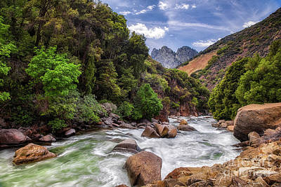 Photograph - Kings River by Anthony Michael Bonafede