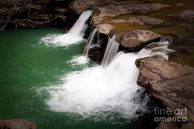Kings River Falls Art Print by Tamyra Ayles