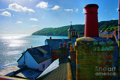 Photograph - Kingsand Rooftops by Stuart Row