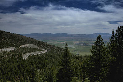 Photograph - Kingsbury Grade - Carson Valley 1 by Michael Gordon
