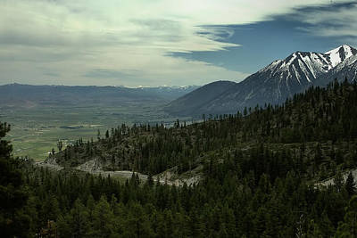 Photograph - Kingsbury Grade - Carson Valley 2 by Michael Gordon