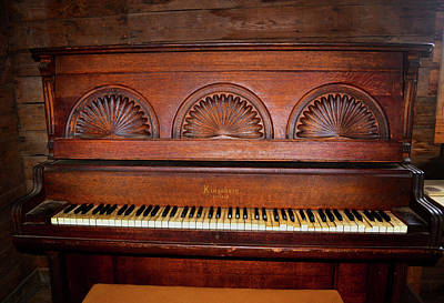 Photograph - Kingsbury Piano 002 by George Bostian