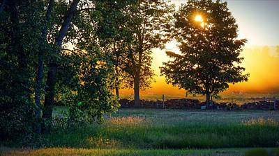 Photograph - Kingsbury Sunset by Kendall McKernon