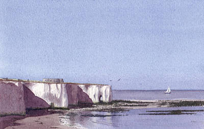 Painting - Kingsgate Bay Broadstairs by Martin Howard
