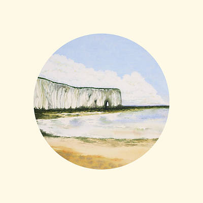 Painting - Kingsgate Bay by Deborah Runham
