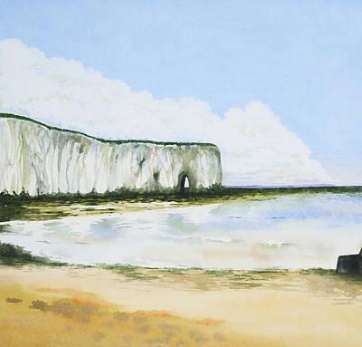 Painting - Kingsgate Bay Kent by Deborah Runham