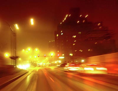 Photograph - Kingshighway  Blur St Louis by Garry McMichael