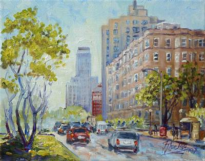 Painting - Kingshighway Blvd - Saint Louis by Irek Szelag