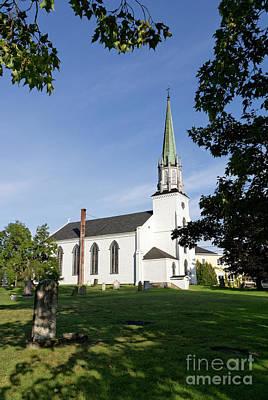 Photograph - Kingston Church New Brunswick by John  Mitchell