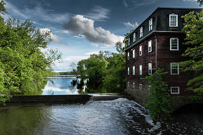 Photograph - Kingston Mill After The Rain by Steven Richman