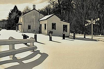 Photograph - Kingston Woodprint by Steven Richman