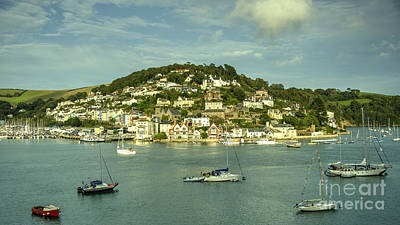Kingswear  Art Print by Rob Hawkins