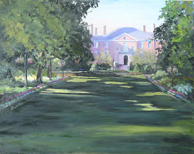 Painting - Kingwood Mansion by Judy Fischer Walton