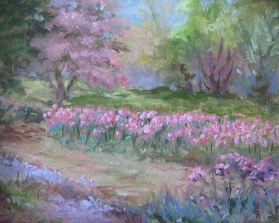 Painting - Kingwood Tulips by Sharon Weaver