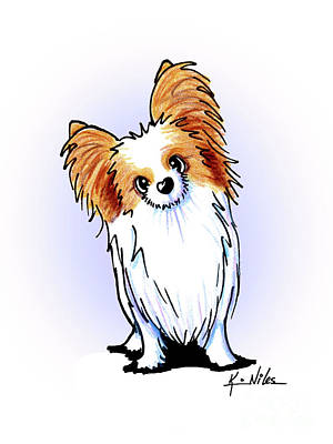 Drawing - Kiniart Papillon by Kim Niles
