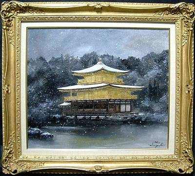 Landscapes Painting - Kinkakuji by Hiroyuki Suzuki