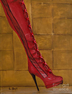 Painting - Kinky Boot by Laurel Best