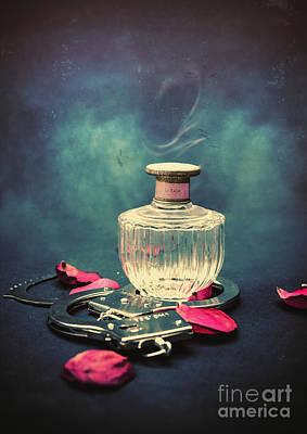 Wood Necklace Digital Art - Kinky Love by Sybille Sterk