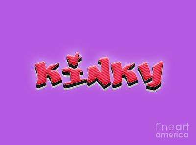 Royalty-Free and Rights-Managed Images - Kinky Tee by Edward Fielding