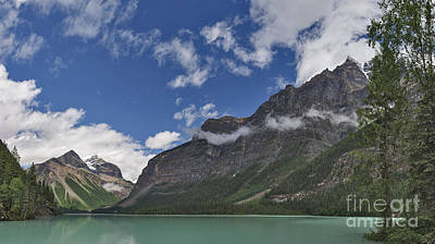 Photograph - Kinney Lake Whitehorn Peak And Mount Robson by Charles Kozierok