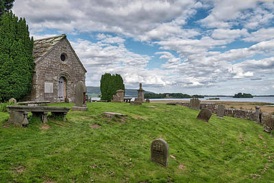Photograph - Kinross Cemetery On Loch Leven by Jeremy Lavender Photography