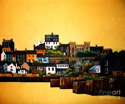 Painting - Kinsale Silluete, West Cork by Val Byrne