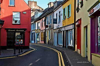 Photograph - Kinsale Street by Edward Peterson