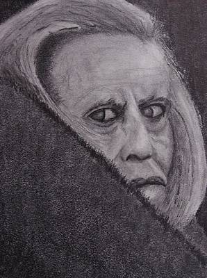 Nosferatu Drawing - Kinski by Nick Young