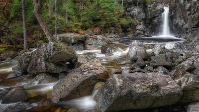 Photograph - Kinsman Falls by Bill Wakeley