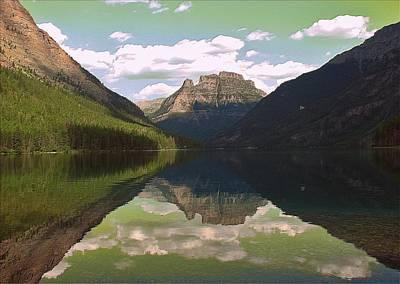 Photograph - Kintla Lake by Leah Grunzke