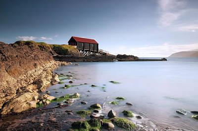 Photograph - Kintyre Boathouse by Grant Glendinning