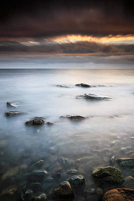 Photograph - Kintyre Coastal Sunset by Grant Glendinning