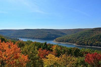 Kinzua Photograph - Kinzua Bay by Shelley Smith