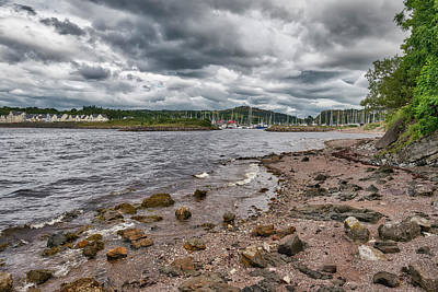 Photograph - Kip Village And Marina In Inverclyde, Scotland by Jeremy Lavender Photography