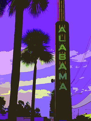 Kirby And Alabama Art Print by Derick Van Ness