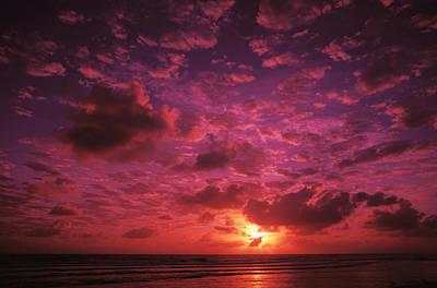 Photograph - Kiribati Sunset by Ron Dahlquist - Printscapes