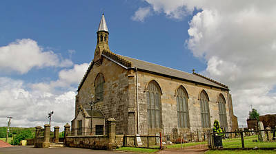 Photograph - Kirk Of Shotts. North Lanarkshire. by Elena Perelman