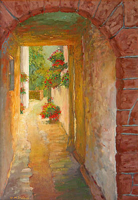 Brick Painting - Kirkcudbright by William Ireland