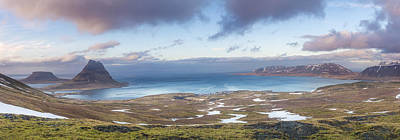 Photograph - Kirkjufell And Grundarfjordur From On High by Glen Sumner