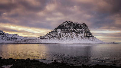 Photograph - Kirkjufell At Sundown by James Billings