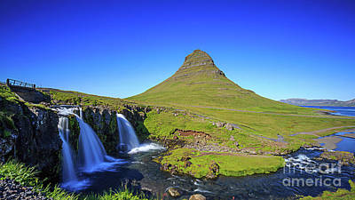 Photograph - Kirkjufell Iceland by Edward Fielding
