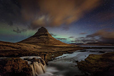 Photograph - Kirkjufell Mountain by Andres Leon
